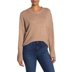 NWT MADEWELL Solid Dolman Sleeve Pullover Sweater